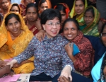 Margaret Chan in Bangladesh